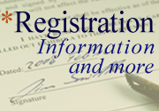 Registration Information (dupe)